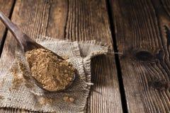 Heap of Guarana Powder Stock Image