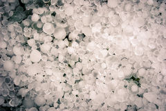 Heap of Hail Stock Photo