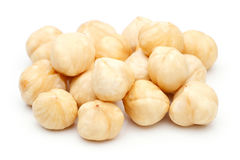 Heap of Hazelnut isolated Royalty Free Stock Images