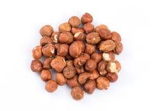 Heap of hazelnuts Stock Photo