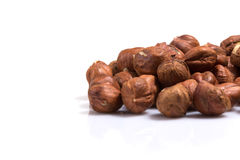 Heap of hazelnuts Royalty Free Stock Photo