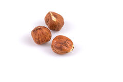 Heap of hazelnuts Royalty Free Stock Photos