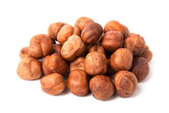 Heap of hazelnuts Royalty Free Stock Photography