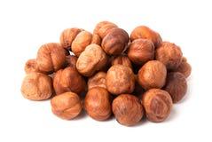 Heap of hazelnuts Royalty Free Stock Photography