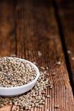 Heap of Hemp Seeds Royalty Free Stock Image