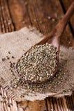 Heap of Hemp Seeds Royalty Free Stock Images