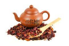 Heap of herbal tea Royalty Free Stock Photography