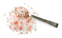 Heap of himalayan salt Stock Photography