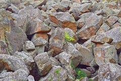 Heap of huge stones Stock Photos