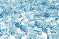 Heap of ice cubes. background of ice cubes with depth of field. 3d rendering. Heap of ice cubes. background of ice cubes with depth of field, 3d rendering stock illustration