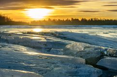 Heap of Ice. Royalty Free Stock Image