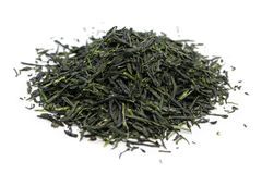 Heap of japanese green tea Stock Photography