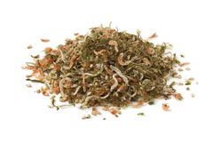 Heap of Japanese rice topping Royalty Free Stock Image