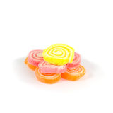 Heap of jelly sweet, flavor fruit, candy dessert colorful Royalty Free Stock Photo