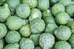 Heap of kaffir limes Royalty Free Stock Photography