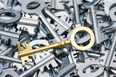 Heap Of Keys Royalty Free Stock Photos