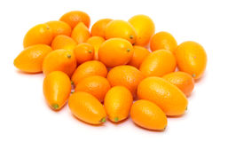 Heap Kumquat fruit (Fortunella) Royalty Free Stock Image