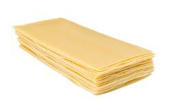Lasagne sheets pasta Royalty Free Stock Images