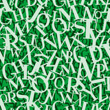 Heap of letters (seamless vect Royalty Free Stock Images