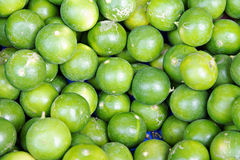 Heap of limes Royalty Free Stock Photography