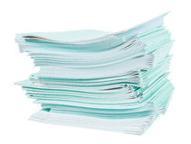 Heap of lined notebooks Royalty Free Stock Photography