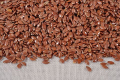 Heap of linseed Royalty Free Stock Image