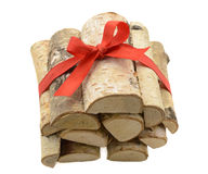 Heap of logs 1 Stock Image
