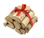 Heap of logs 2 Stock Image