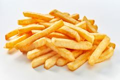 Heap of long french fries