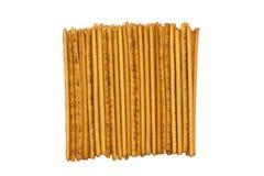 Heap long thin biscuit closeup Royalty Free Stock Photos