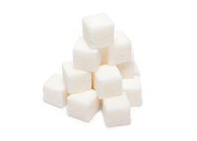 Heap of lumpy sugar Royalty Free Stock Photography