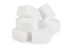 Heap of lumpy sugar Stock Photography