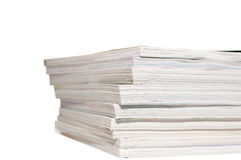 Heap of magazines Stock Images