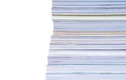 Heap of magazines Stock Photo