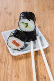 Heap of Maki Rolls Stock Photography
