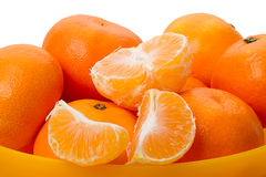 Heap of mandarins Stock Photo