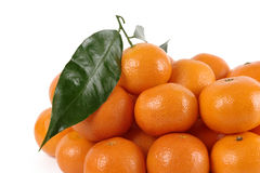 A heap of mandarins Royalty Free Stock Images