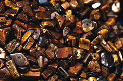 Tiger eye  stones Royalty Free Stock Image
