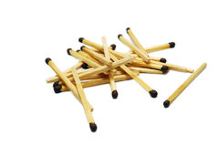 Heap of Matches Stock Image