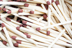 Heap of matches Stock Photography