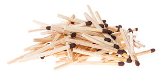 Heap of Matchsticks Royalty Free Stock Photography