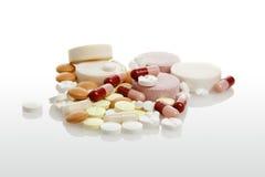 Heap of medicine Stock Image