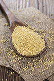 Heap of Millet Stock Photography
