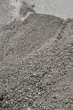 Heap of mixed gravel and asphalt Stock Photo