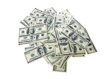 Heap of money Royalty Free Stock Photos