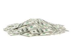 Heap of money Stock Image