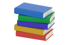 Heap of multicolored books Royalty Free Stock Images