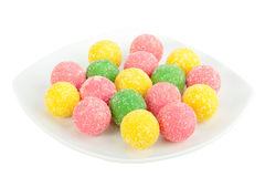 Heap of multicolored sweets Stock Photo
