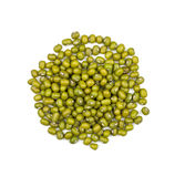 Heap of mung beans Royalty Free Stock Photography