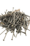 Heap of nails Stock Photos